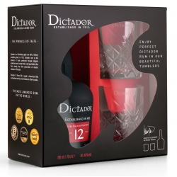 Rum Dictador 12 YO 0,7 GIFT...