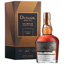 Rum Dictador Best Of 1980...
